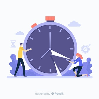 Концепция управления временем для целевой страницы