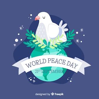 平和の背景の国際デー