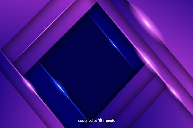 エレガントな暗い多角形の背景