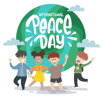 子どもたちとの国際平和デー