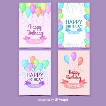 Ручной обращается день рождения приглашения коллекции