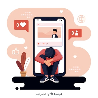 Плоский дизайн социальных медиа убивает концепцию дружбы
