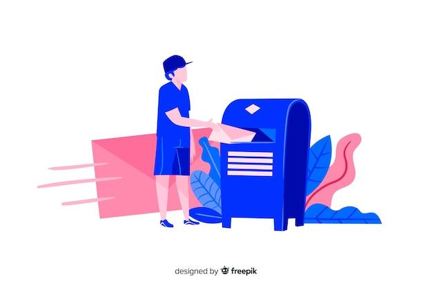 ランディングページのメールボックスの概念