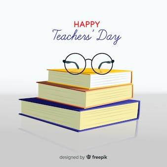 現実的な教師の日の背景