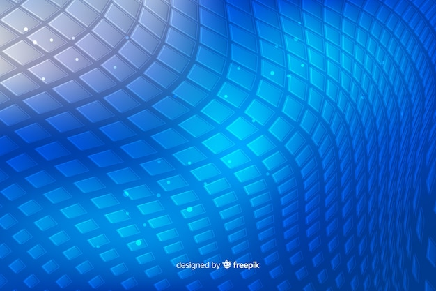 抽象的な青い蛇肌形状の背景