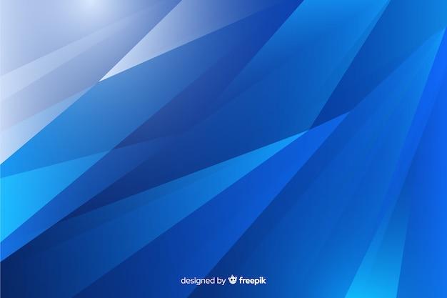 抽象的な粉々になった青いガラスの背景