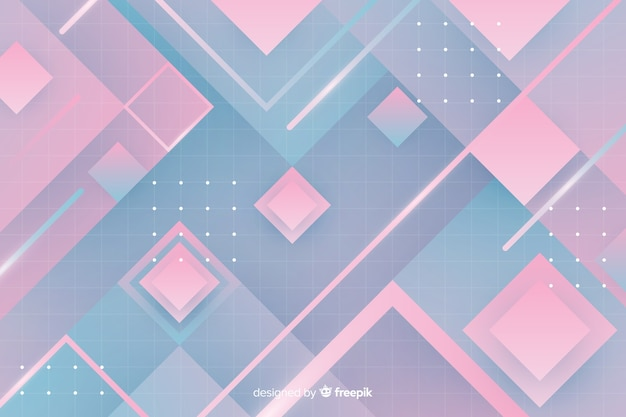 Ретро геометрический светлый фон