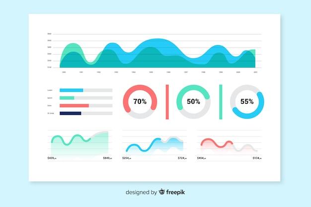 要素コレクショングラフィックテンプレートの進化