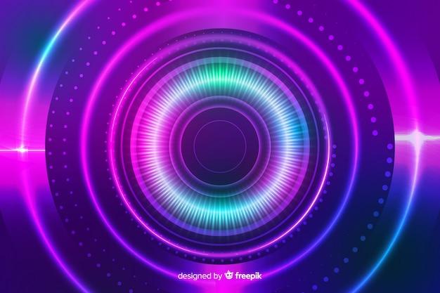 Абстрактный стиль фона красочные круги