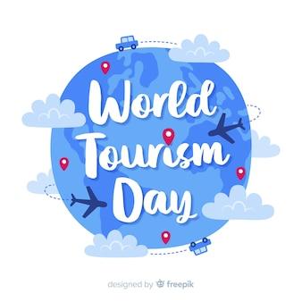 День туризма концепция с буквами