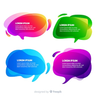 Скопировать пространство речи пузырь в градиенте