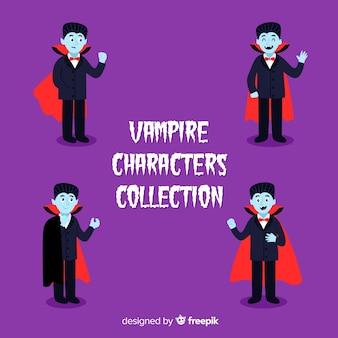 Коллекция персонажей дракулы в мысе