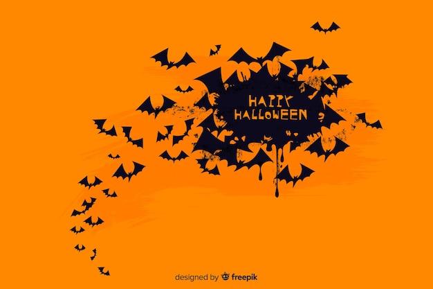 Гранж-фон на хэллоуин