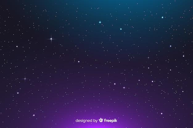 グラデーションの抽象的な星座の背景
