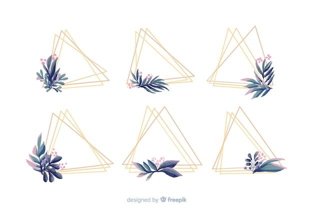 Акварельные свадебные рамки, логотипы