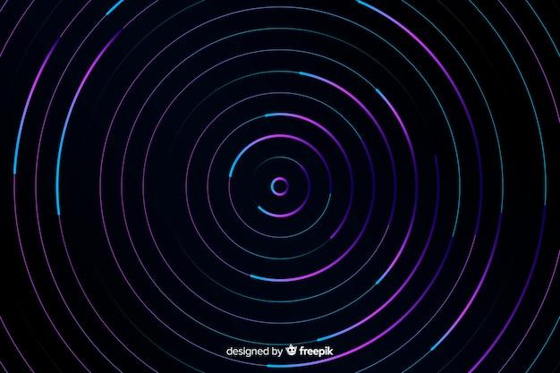 抽象的なカラフルなサークルの背景