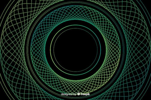 背景の抽象的なカラフルなサークル