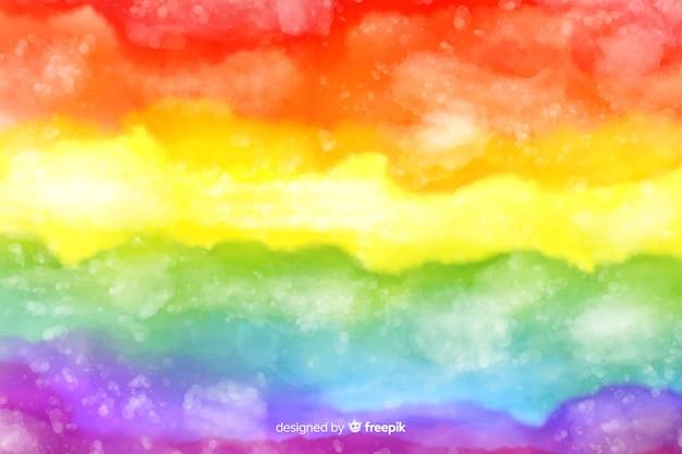 芸術的な絞り染め虹の背景