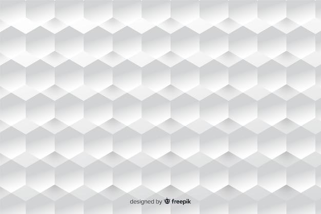 Геометрические фигуры в бумажном стиле фона