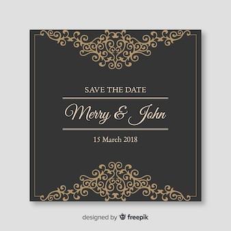 Декоративные сохранить дату приглашения на свадьбу