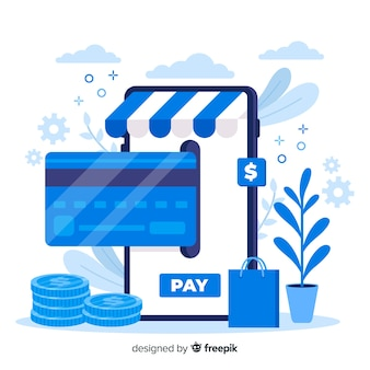 クレジットカードのランディングページ支払いの概念