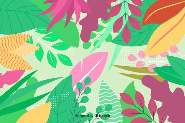 Абстрактный цветочный фон в рисованной дизайн