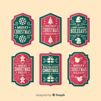 ビンテージクリスマスラベルコレクション