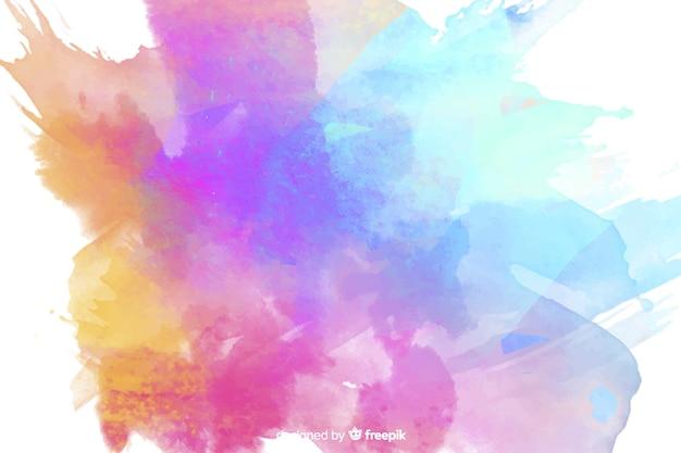 Красочный фон акварельные пятна