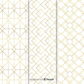 Современные геометрические роскошные формы