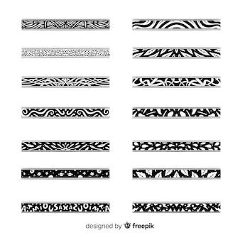 手描きの分周器コレクション