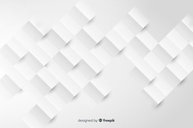 紙のスタイルの幾何学的図形の背景