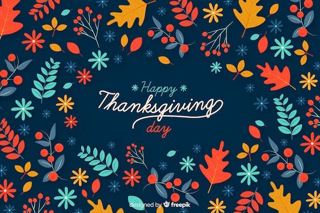 Концепция дизайна день благодарения