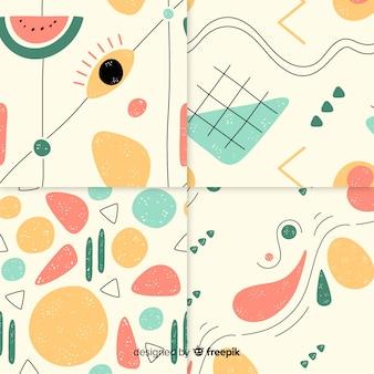 手描き抽象模様コレクション