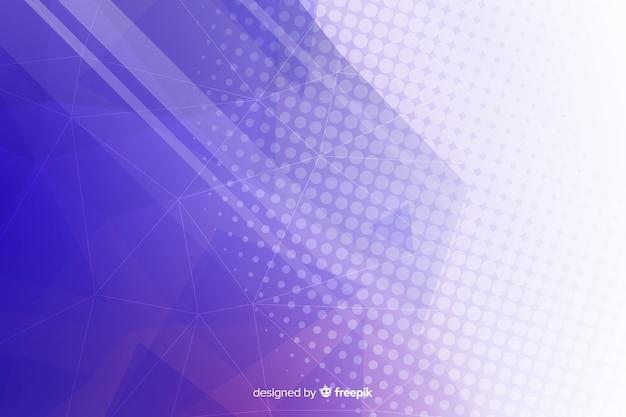 幾何学的図形の背景のグラデーションの概念