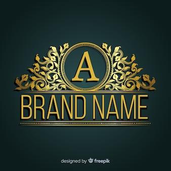 Декоративный элегантный логотип