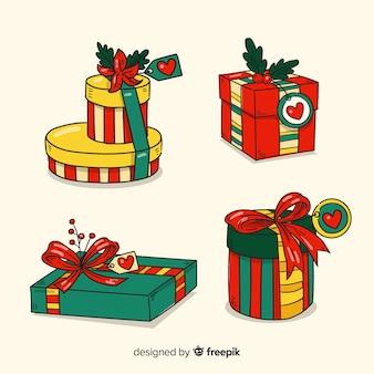 Ручной обращается рождество элемент коллекции