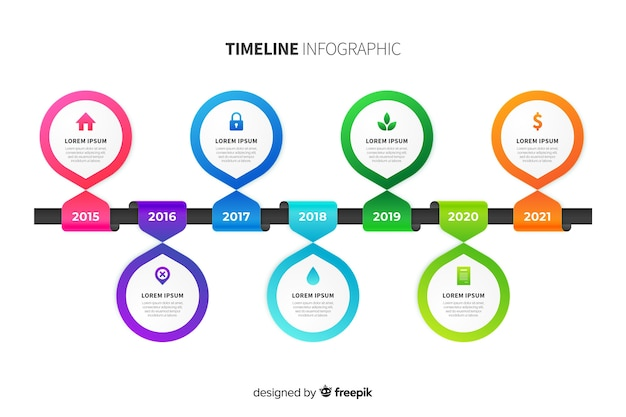 Профессиональный график инфографики