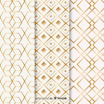 Набор геометрических роскоши