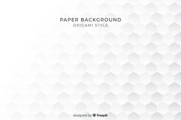 Фон с фигурами в стиле бумаги