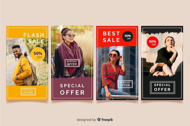 Инстаграм истории абстрактной моды распродажа