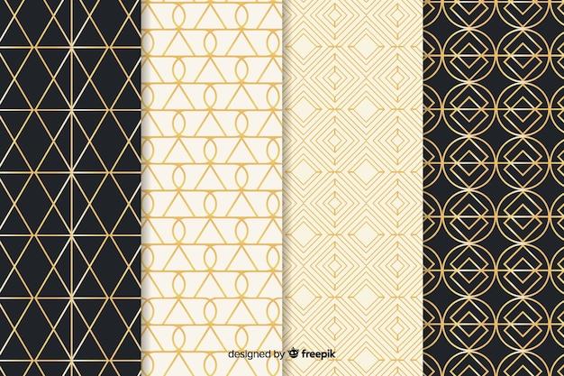 豪華な幾何学模様のコレクション