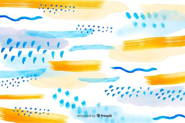 ブラシストロークの抽象的な背景