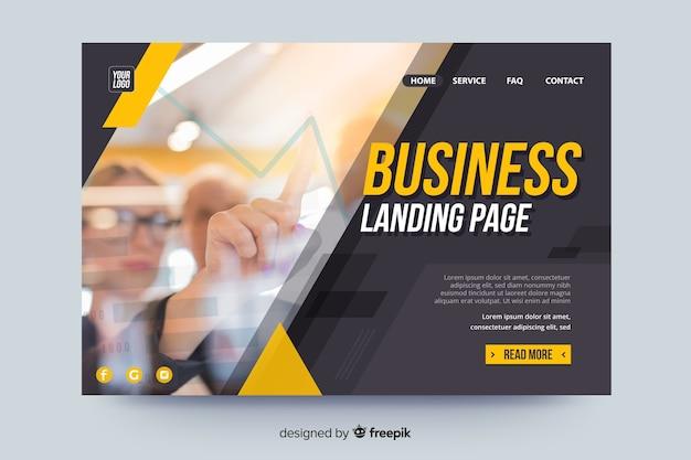 画像付きのランディングページビジネス