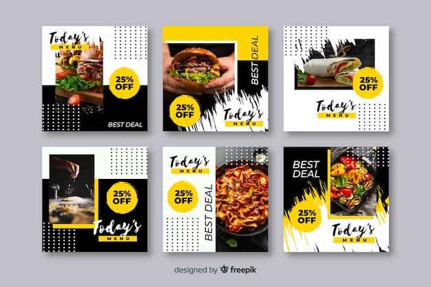 Кулинарный инстаграм пост коллекция с фото
