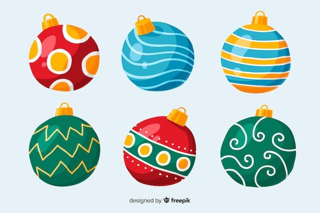 手描きのクリスマスボール