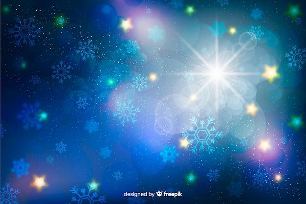 Новогодний сверкающий фон