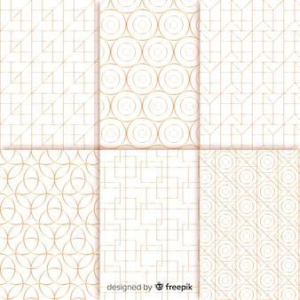 Коллекция геометрических узоров
