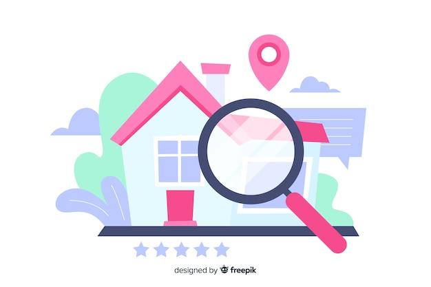 Концепция поиска целевой страницы дома