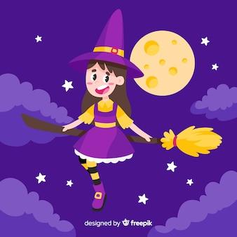 Милая ведьма хэллоуин