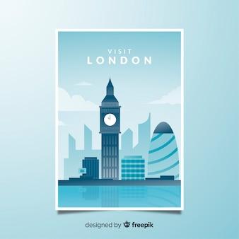 Ретро рекламный плакат лондона
